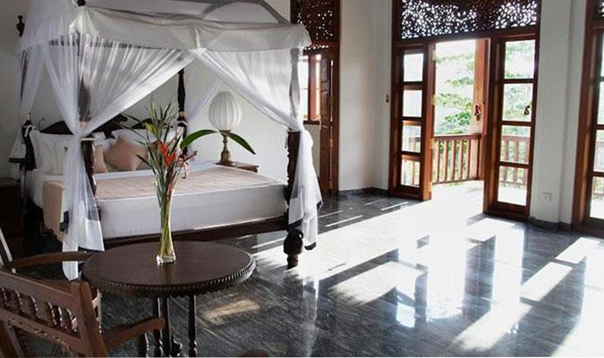 Im Idyll liegende Niyagam House 9km von Galle Sri Lanka