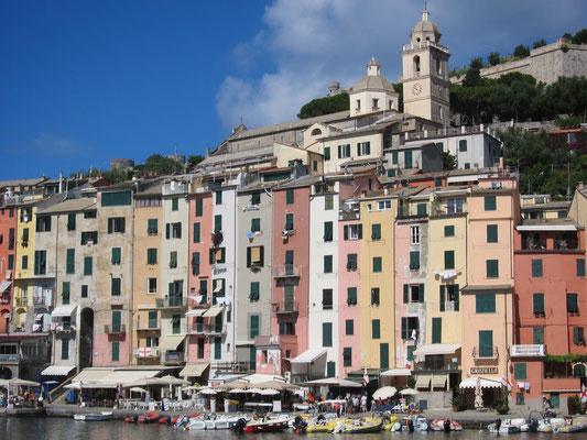 Das pittoreske Portovenere, Ligurien