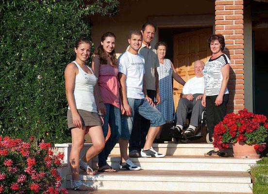Winzerfamilie PILATO in Vizinada, Istrien