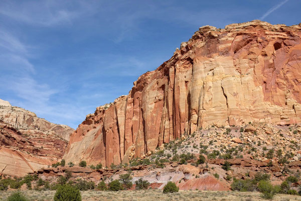 Scenic Drive Capitol Reef National Park USA Südwesten