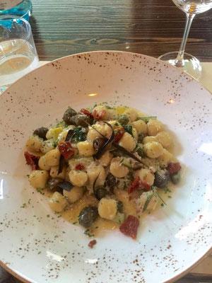 Gnocci, Restaurant Nevido Castello Venedig