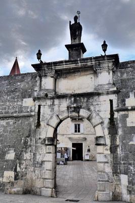 Das alte Stadttor in Trogir