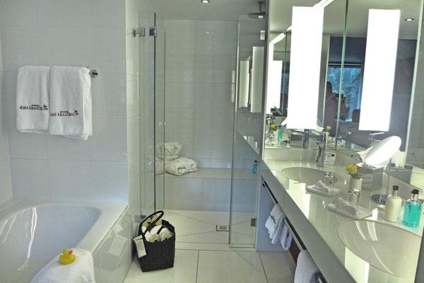 Gläsernes Bad im Kranzbach Hotel