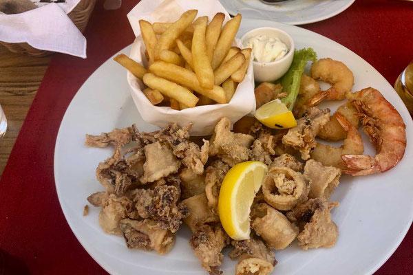 Fritto Misto Restaurant Mani in Umag