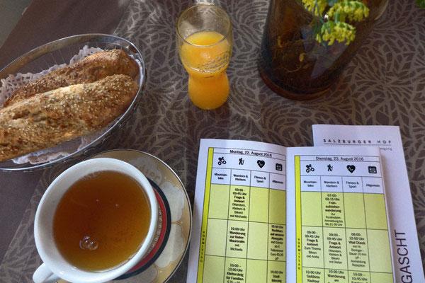 Großes Fitness-Frühstück mit Wochenprogramm, Salzburger Hof Leogang