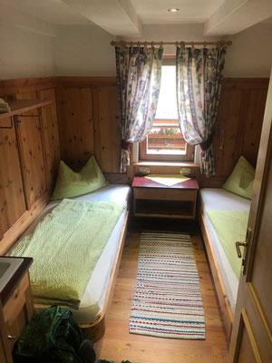 Zimmer Fanes Hütte