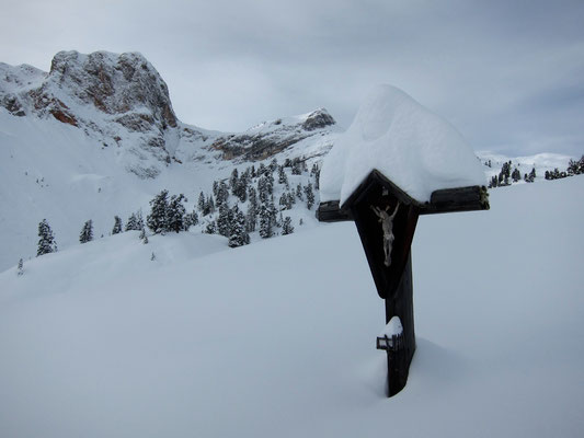 Skitour ab Villgratental ins Pragsertal, Dolomiten