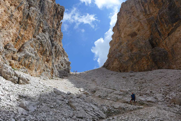 Forcella del Lago, Dolomiten-Höhenweg Nr 1