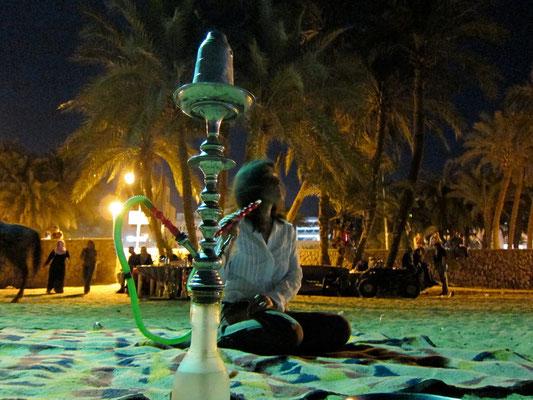 Abends am Stadtstrand Aqaba