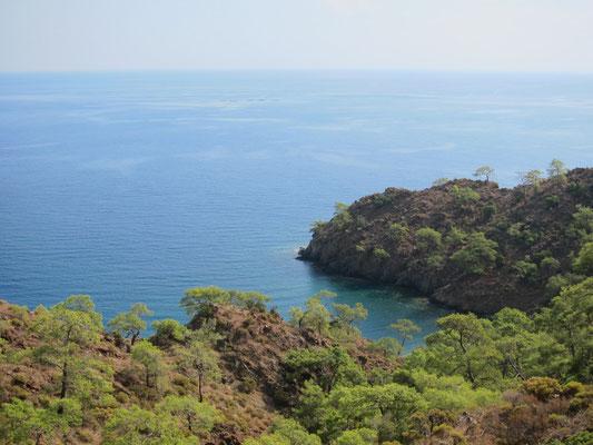 Wanderung bei Cirali, Lykische Küste Türkei