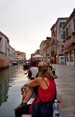Am Canale Paradiso Perduto Restaurant, Cannaregio Venedig