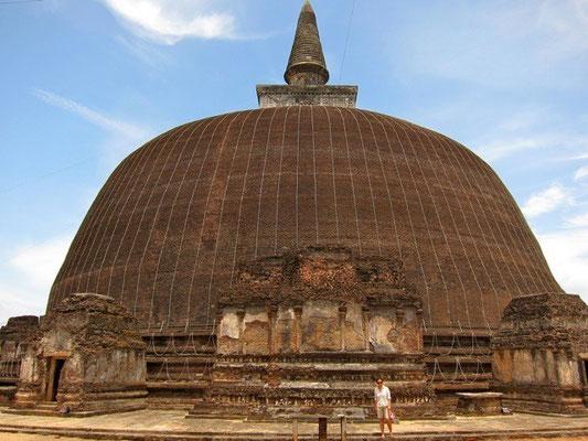 Vatadage – der runde Reliquieschrein, Polonnaruwa  Sri Lanka