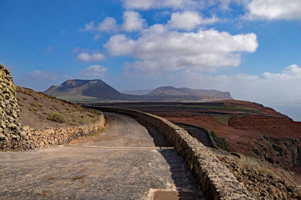 Panoramastraße am Mirador del Río Lanzarote