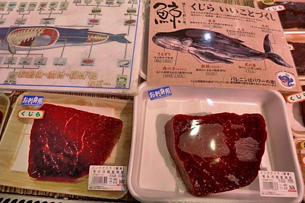 Walfleisch – Tore-tore Seafood Market