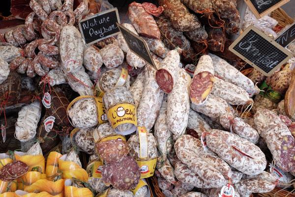 Samstagmarkt in Chamonix