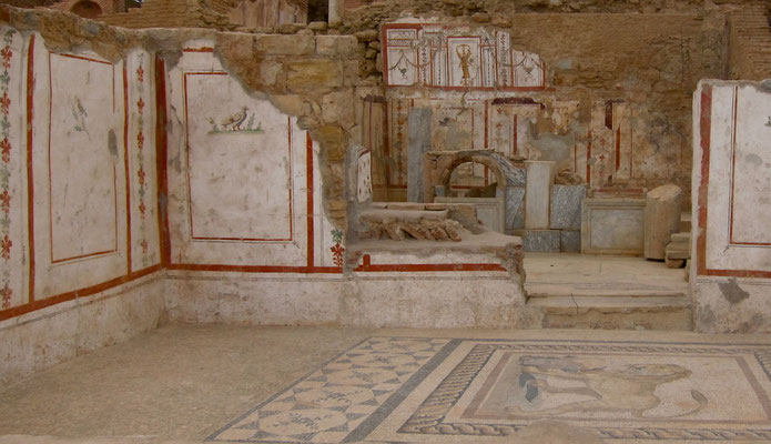 Hanghäuser von Ephesus, Türkei