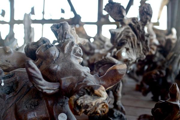 Schönes Namibia Souvenir Holzschnitzereien Windhoek