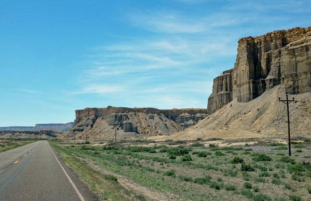 Scenic Byway 24 Utah Badlands, USA Südwesten