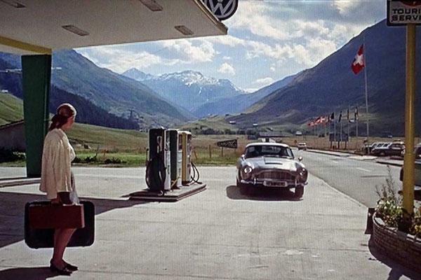 Szene aus James Bond 'Goldfinger'