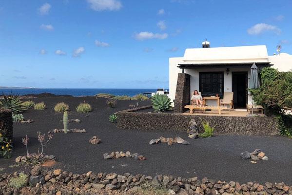 Windgeschützte Terrasse, Lotus del Mar Lanzarote
