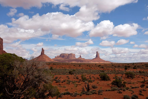Wildcat Trail, Monument Valley Wanderung