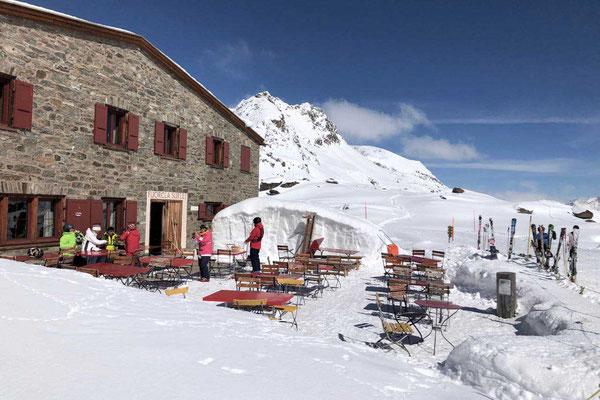 Skihütte am Corvatsch