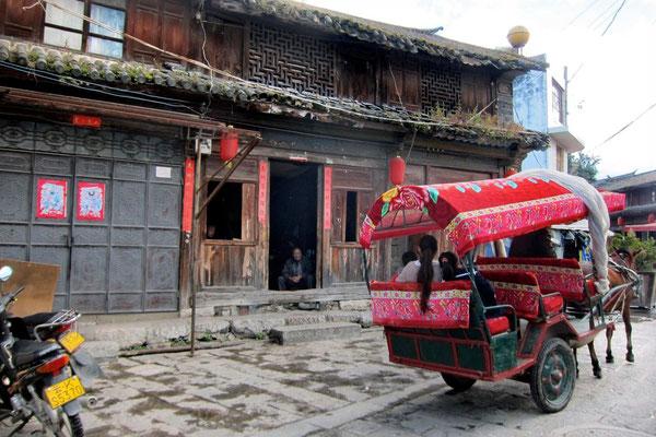 Altag im Dorf Xizhou
