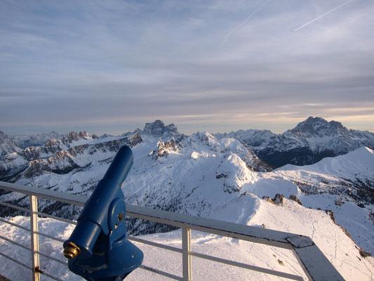 Terrasse Rifugio Lagazuoi, Dolomiten Südtirol
