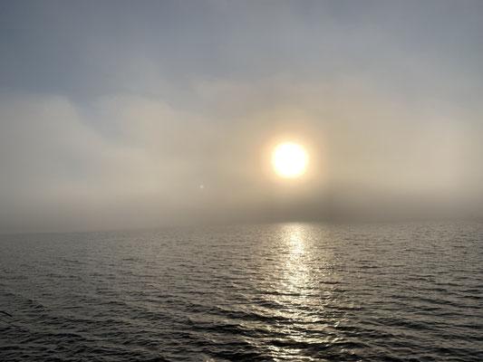 ... ganz so dicht ist der Nebel ja auch nicht!