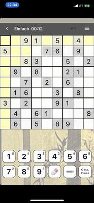 Um die nächste längere Überfahrt etwas kurzweiliger zu machen, habe ich mir noch einige Spiele auf das iPhone gezogen (Sudoku)