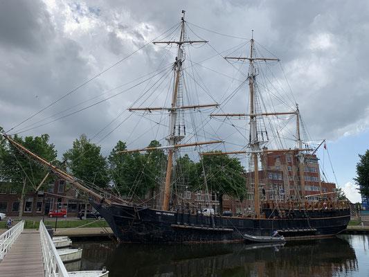 Frisch gestärkt habe ich noch ein wenig den historischen Hafen erkundet ...