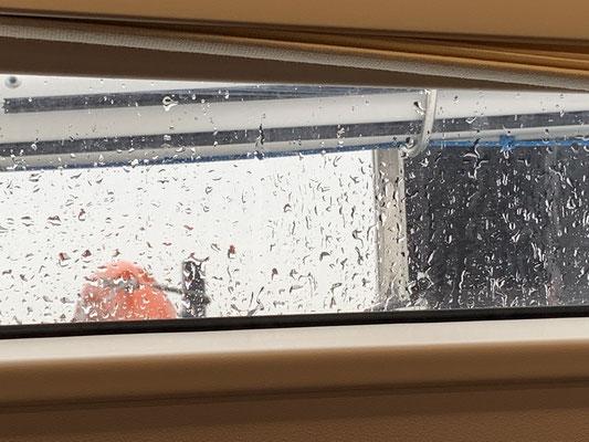 ... wo es heute wieder grau in grau ist und immer mal wieder regnet ... Zeit weiter die Reise vorzubereiten ...