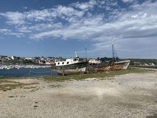 ... und ein paar Fotos ... beschließe ich direkt ins Abenteuer Biskaya zu starten, bevor ich Zweifel bekomme ... das Wetter sieht auch gerade gut aus für die kommenden drei Tage ...