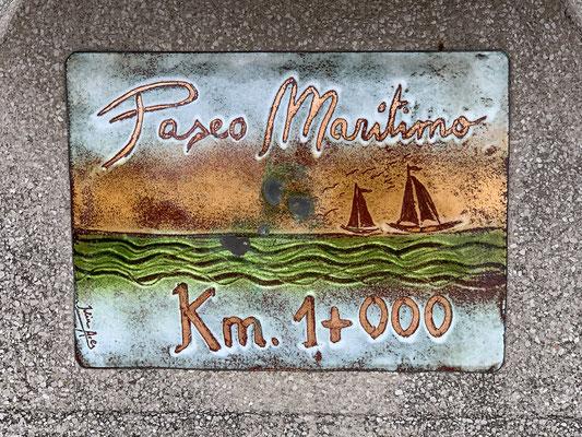 """Nach ca. 6 km auf  """"Maritimen Wanderweg"""" ... kehre ich zum Boot zurück!"""