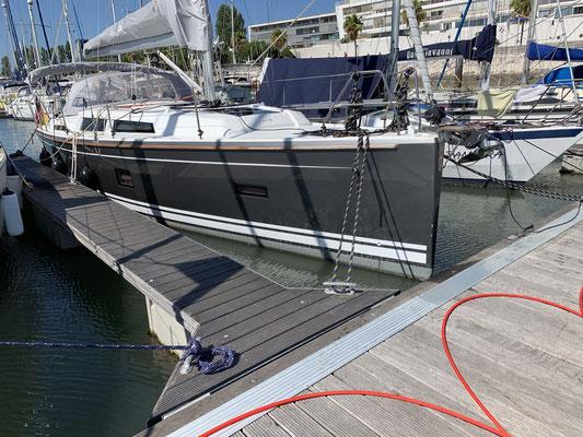 ... jetzt beginnt die Vorbereitung auf die Überfahrt nach Madeira ... Mittwoch früh soll es losgehen ... vorher noch Motorservice und Boot reinigen ... Einkaufen ...