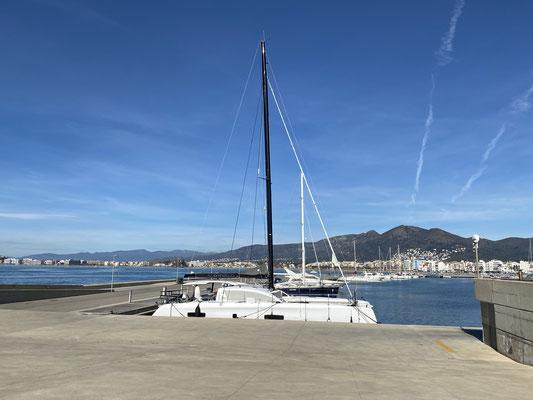 ... und die Häfen und Boote verfolgen mich beharrlich ;o/ ... naja Campen ist ja auch ganz nett ... jetzt mal sehen was die Zukunft bringt!