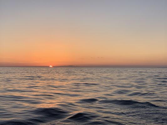 ... immer wieder tolle Sonnenaufgänge!