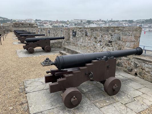... die Festung habe ich mir dann auch nochmal im Detail angeschaut ... schließlich hatte ich einen Tag Pause in St. Peter Port!