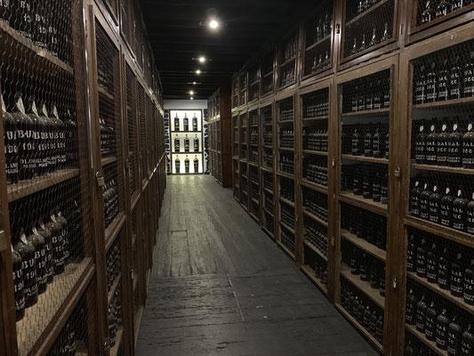 """... dann muss ja was dran sein, am Wein hier ... also eine Führung durch """"Blandy's Wine Lodge"""" ... einer der Hauptproduzenten des Likörweines auf Madeira ..."""
