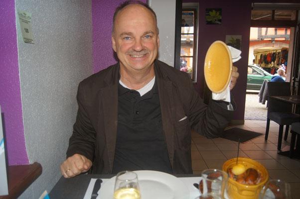 Eins meiner Lieblingsessen: Choucroute im Elsass