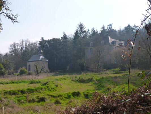 La Voltais château et chapelle