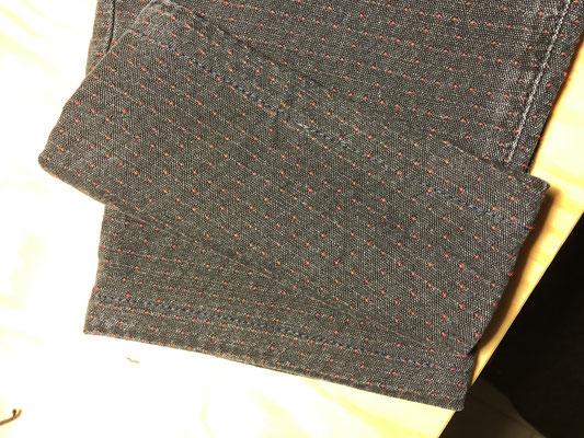 Ourlet simple pantalon