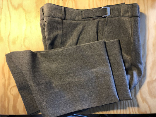 Ourlet invisible pantalon