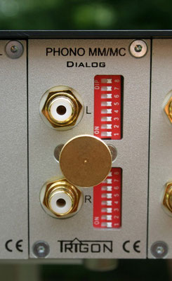 das optionale Phonomodul : hervorragende Klangeigenschaften, MM und MC, umfangreiche Anpassungsmöglichkeiten