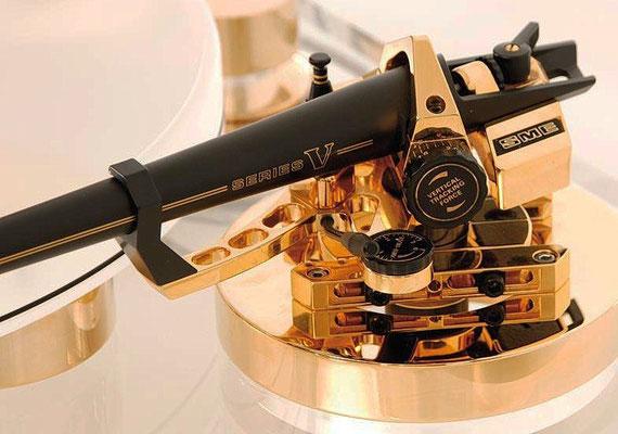 der SME V in gold: ein Schmuckstück und selten anzutreffen