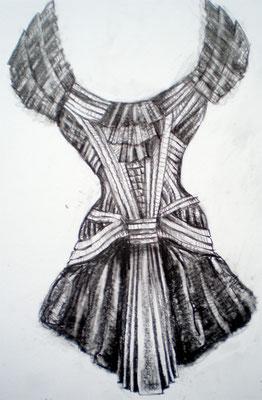 "Kleid ""schwarze Schwan."" 2006"