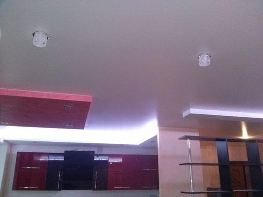 натяжной потолок без шва Липецк