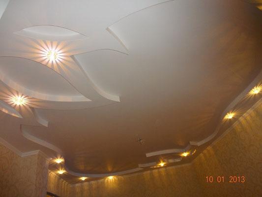 Глянцевый потолок Липецк