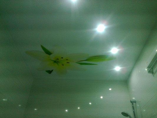 лилия на потолке Липецк