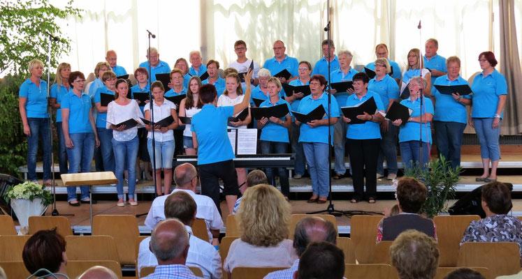 Liederlust Ochsenberg, Leitung: Manuela Oszfolk-Rehfuß